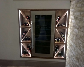 Wine Rack Cabinet Carpenter In Wembly